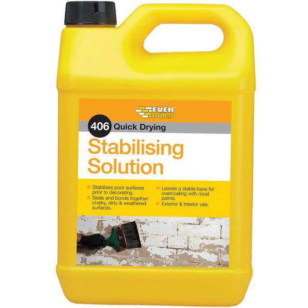 406 Stabilising Solution - Polymer Emulsion - Stabilising Solution - Trade Building Products