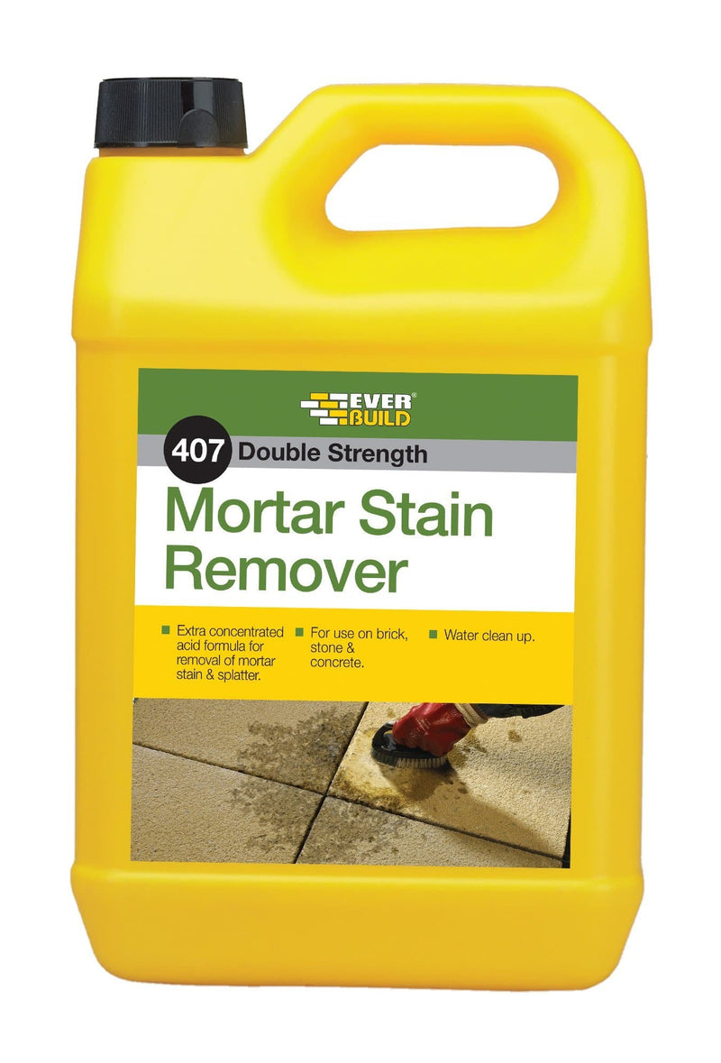 407 - Mortar Stain Remover - Mortar Stain Remover - Trade Building Products
