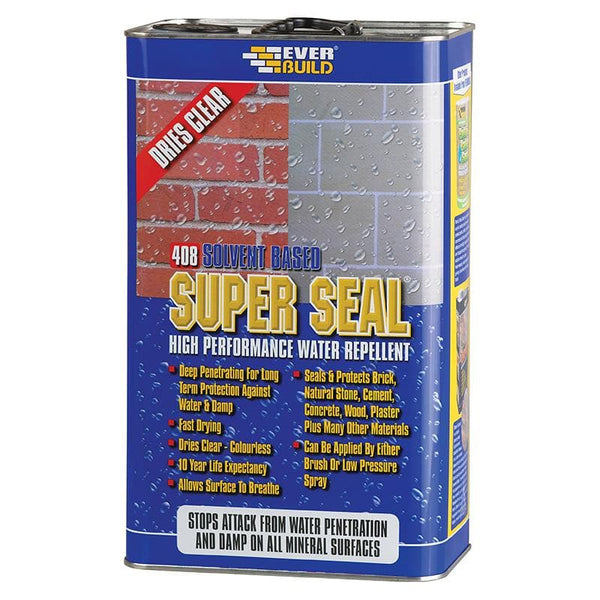 408 Super Seal - High Performance Water Repellent - - Water Repellent - Trade Building Products