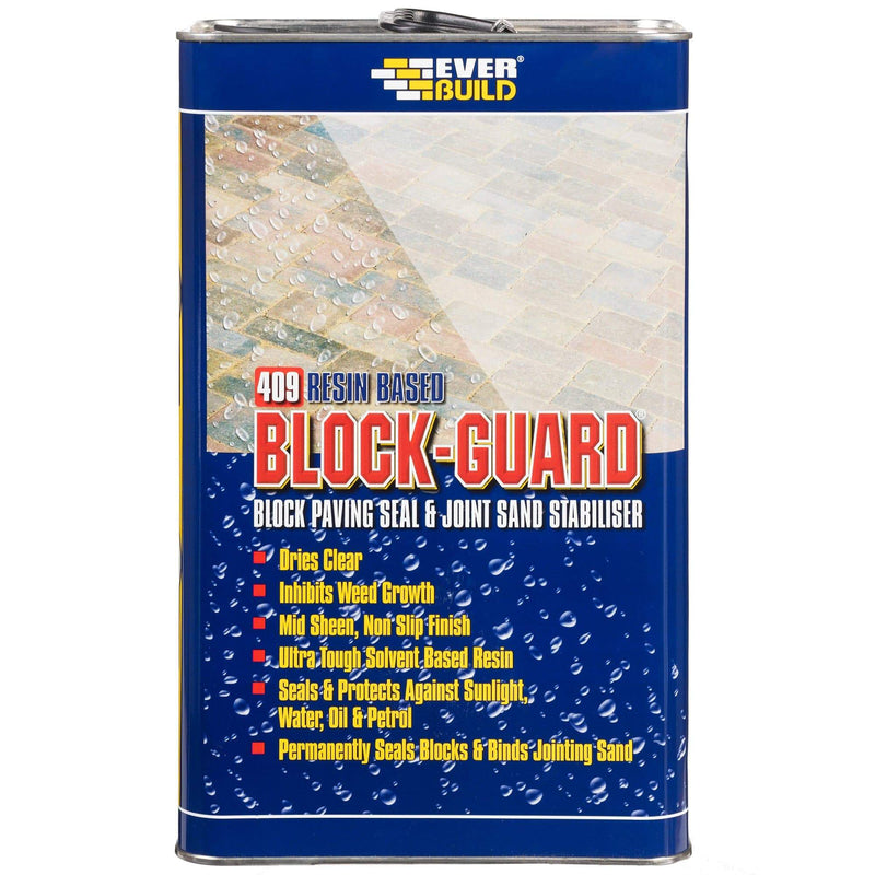 409 Block Guard - Block Paving Sealer - Sealer - Trade Building Products