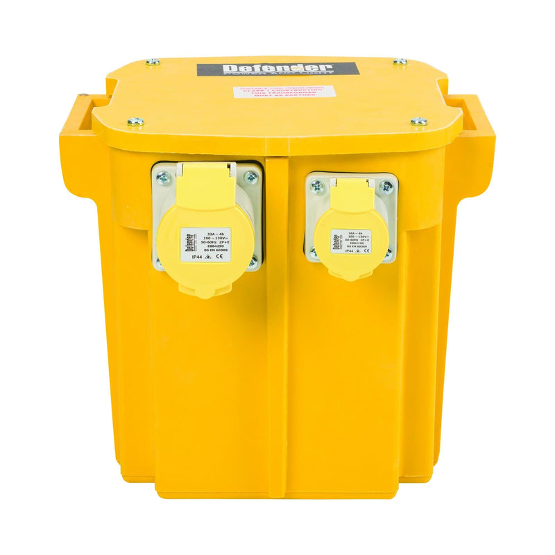 5kVA Transformer 1x 16A and 1x 32A Outlets 110V - Transformers - Trade Building Products