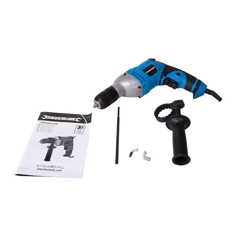 710W Corded Hammer Drill - Corded Drill - Trade Building Products