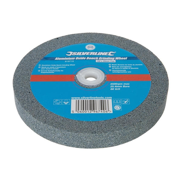 Aluminium Oxide Bench Grinding Wheel - 150mm - Power Tool Accessories - Trade Building Products