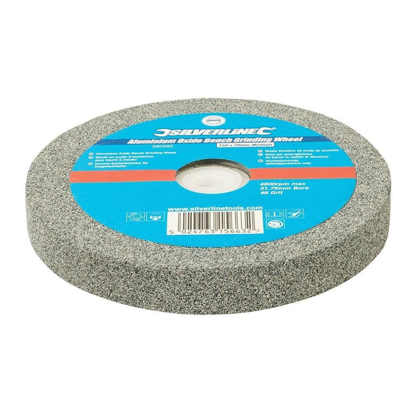 Aluminium Oxide Bench Grinding Wheel - Medium - 150mm - Power Tool Accessories - Trade Building Products