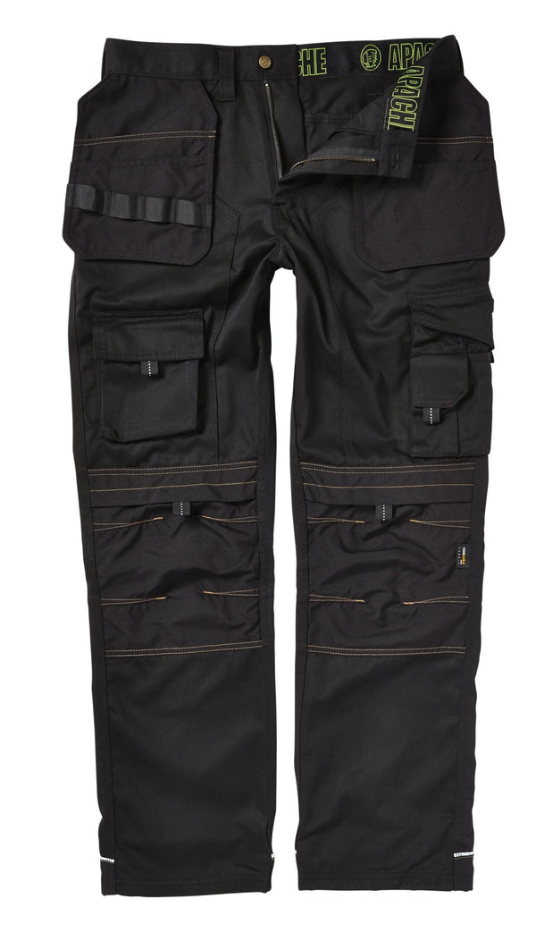 Apache APKHT Kneepad Holster Trousers Black - Clothing - Trade Building Products
