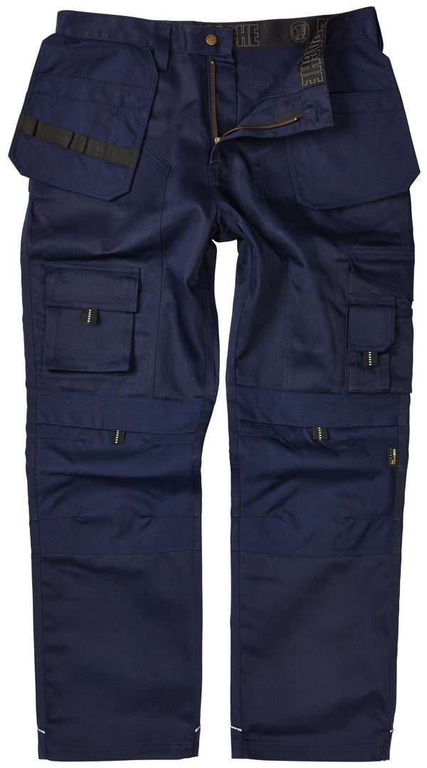 Apache APKHT Kneepad Holster Trousers Navy - Clothing - Trade Building Products