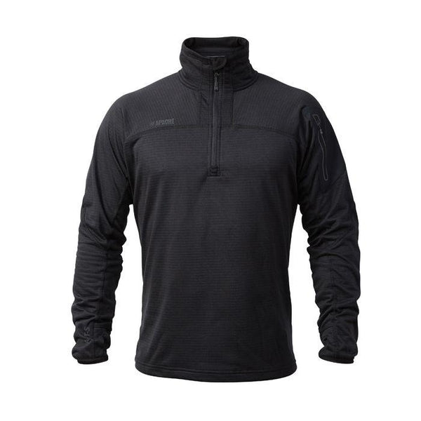 Apache ATS Mid-Layer Tech Fleece Black - Clothing - Trade Building Products