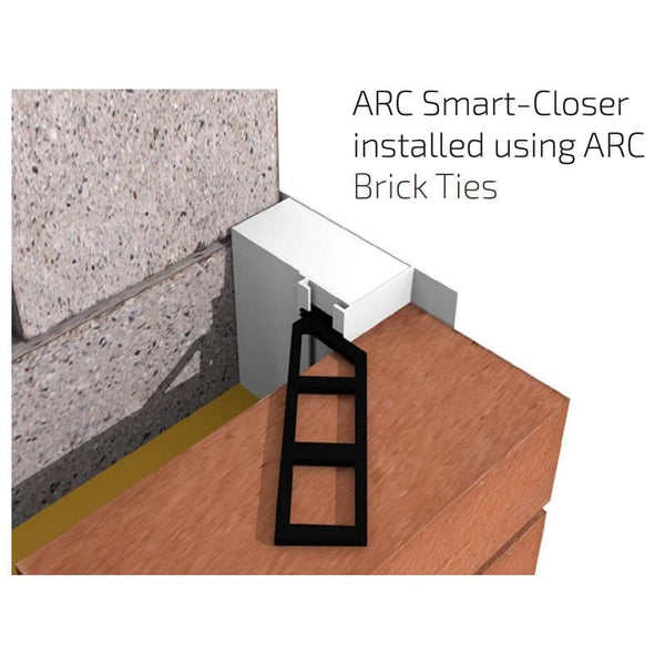 ARC Brickties - for cavity closers - - Cavity Closer - Trade Building Products