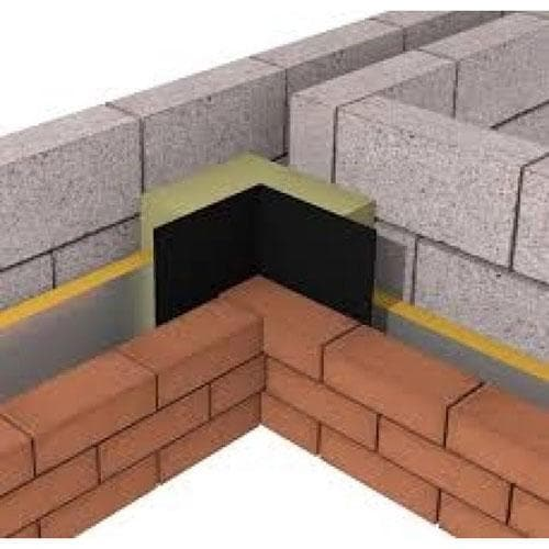 ARC Party Wall DPC (Damp Proof Course) L-Shape - F30 Building Products Ltd.
