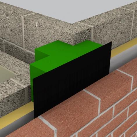 ARC T-Barrier Masonry (Vertical) - F30 Building Products Ltd.