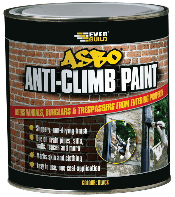 Asbo Anti-Climb Paint - Anti-Climb Paint - Trade Building Products