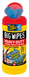 Big Wipes Heavy Duty 4x4 Antibacterial Wipes - 80 Tub - Cleaners - Trade Building Products