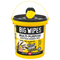 Big Wipes Multi-Purpose 4x4 Antibacterial Wipes - 300 Tub - Cleaners - Trade Building Products