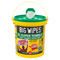 Big Wipes Multi-Surface 4x4 Antibacterial Wipes - 150 Tub - Cleaners - Trade Building Products