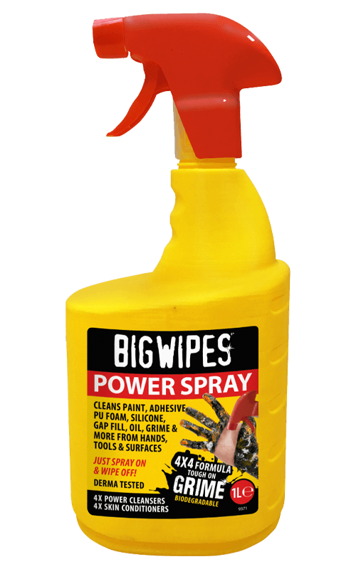 Big Wipes Power Spray - Heavy Duty Cleaning Spray - Cleaners - Trade Building Products