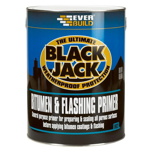Black Jack - 902 Bitumen & Flashing Primer - - Bitumen Paint - Trade Building Products