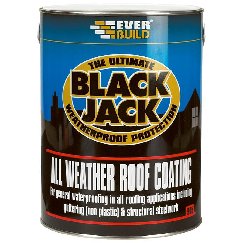Black Jack - 905 All Weather Roof Coating - - Bitumen Paint - Trade Building Products