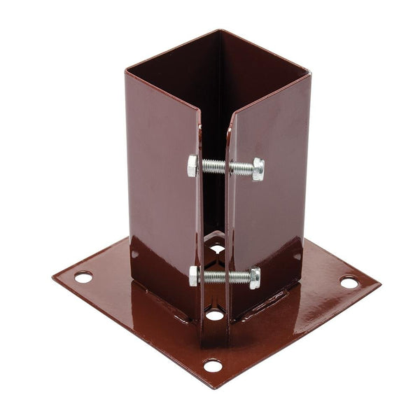Bolt Down Post Shoe - 75 x 75mm - Hardware & Fixings - Trade Building Products