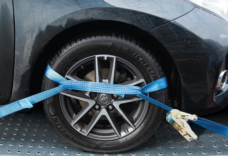 Car Transporter Alloy Wheel Tie-Down Set 3pce - Access & Storage - Trade Building Products