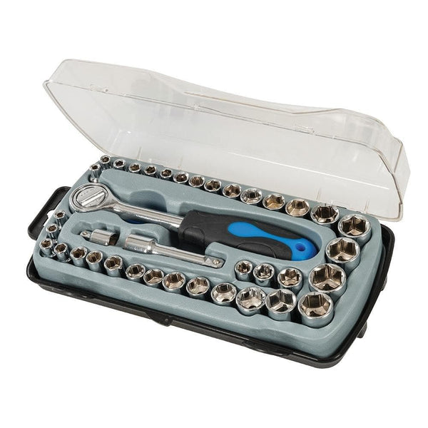 Compact Socket Set 39 Piece - Socket Set - Trade Building Products