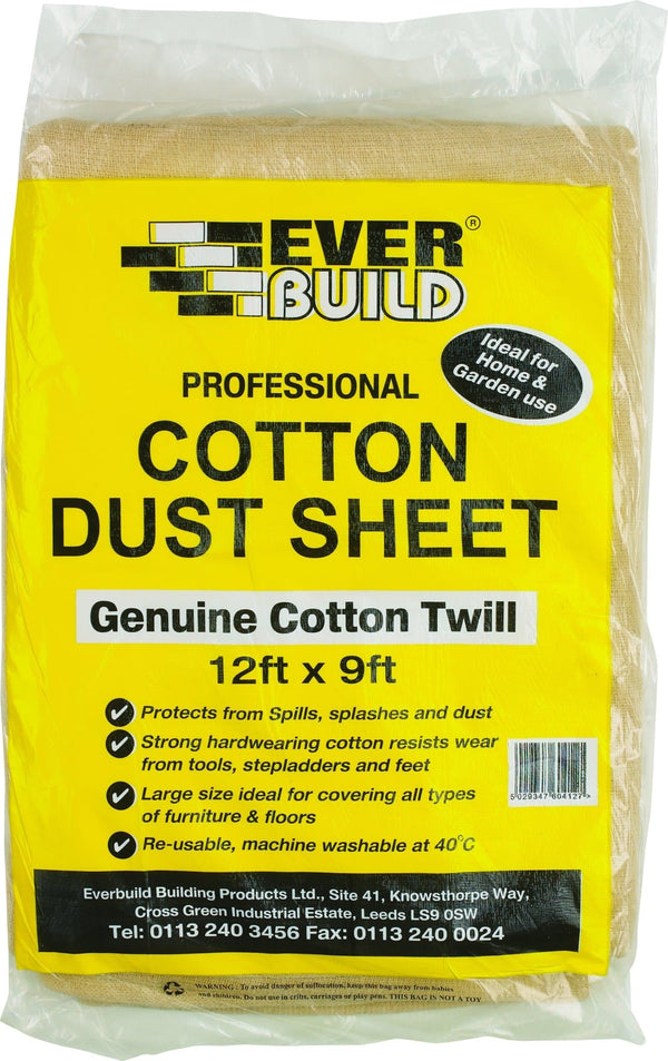 Cotton Dust Sheets - Dust Sheets - Trade Building Products