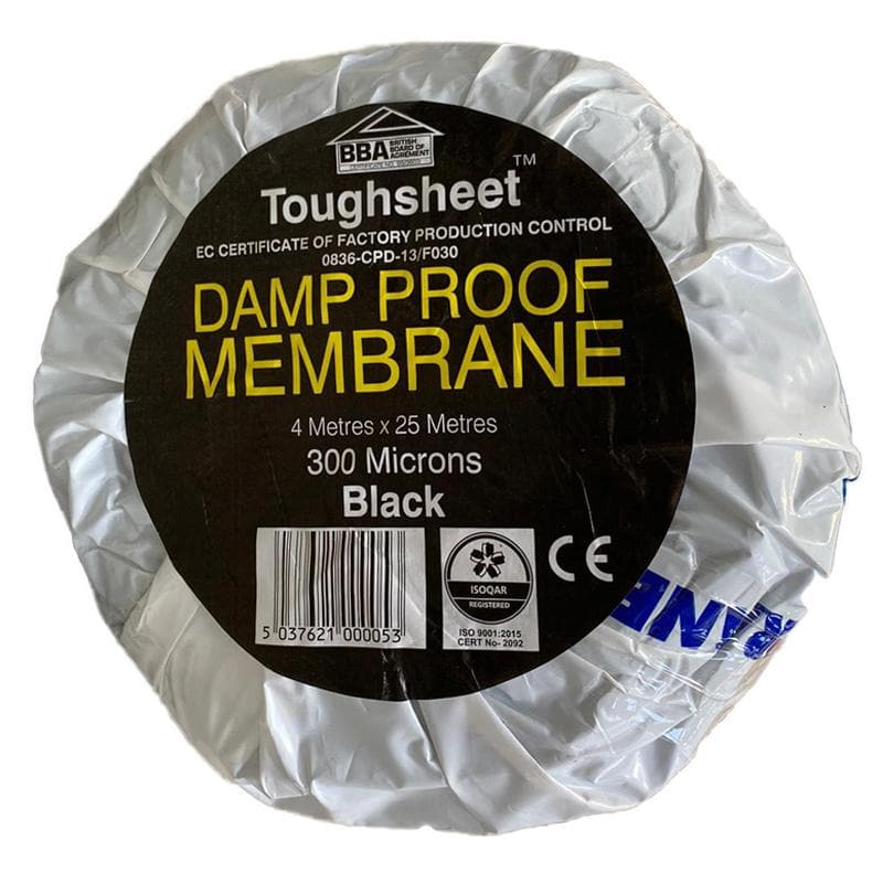 Damp Proof Membrane - DPM - 300MU - 1200 Gauge - Damp Proof Membrane - Trade Building Products