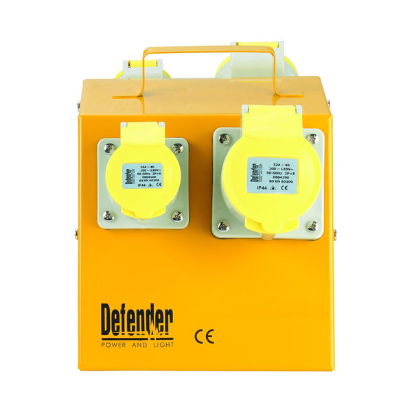 Defender 4-Way Power Splitter Unit 110V - Power Distribution - Trade Building Products