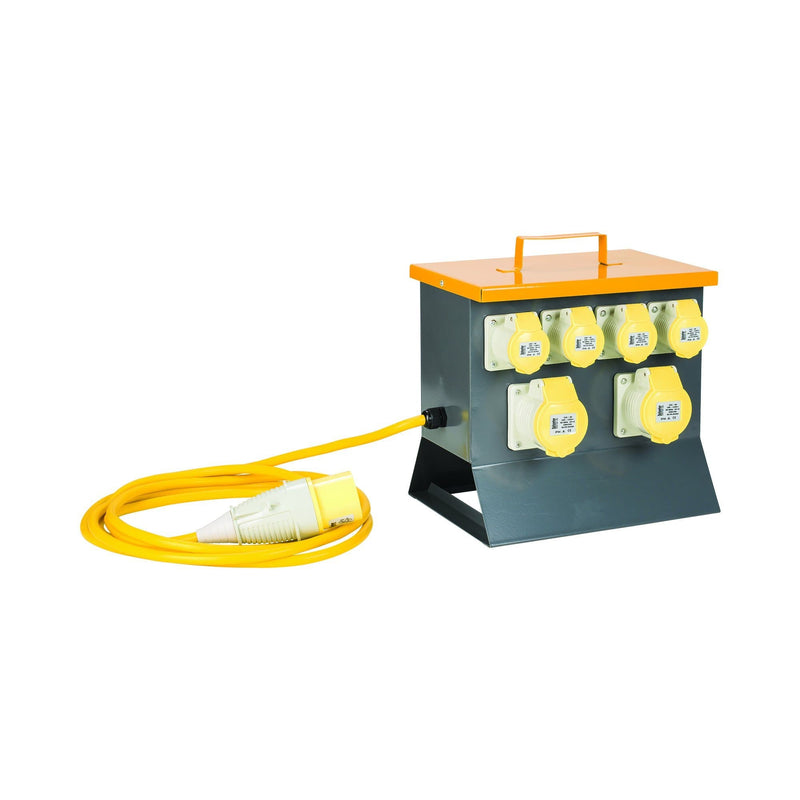 Defender 6-Way Power Splitter Unit 110V - Power Distribution - Trade Building Products