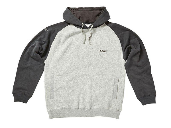 Dewalt Cyclone Grey Marl Hoodie - Clothing - Trade Building Products