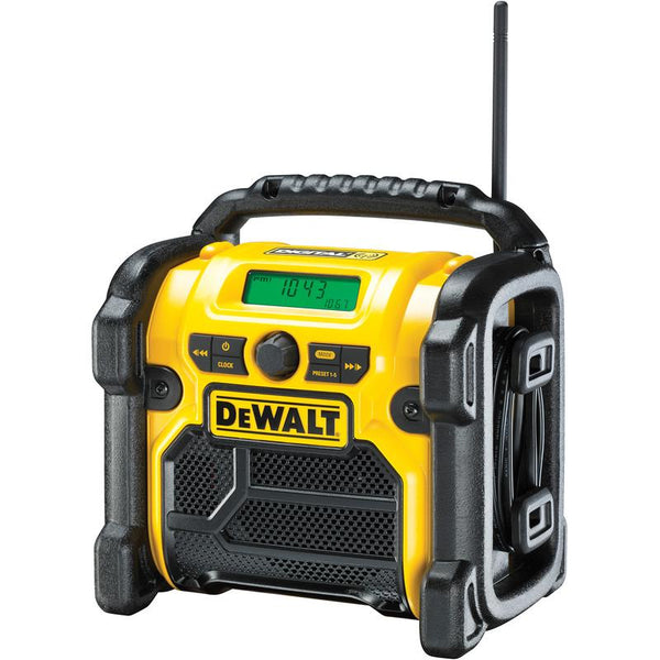 Dewalt DCR020-GB XR Digital Compact DAB Radio - Radio - Trade Building Products