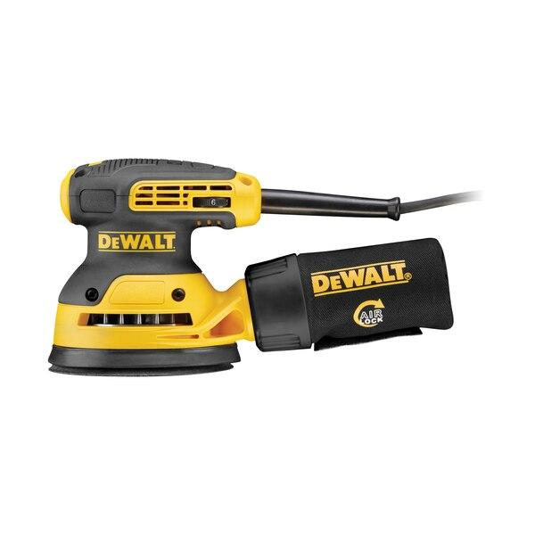 Dewalt DWE6423-GB 125mm Random Orbit Sander - 240V - Power Tools - Trade Building Products