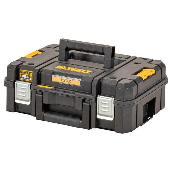 Dewalt DWST83345-1 TSTAK 2.0 Shallow Box Toolbox - Tool Storage - Trade Building Products
