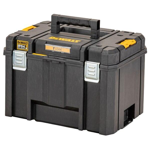 Dewalt DWST83346-1 TSTAK IP54 Deep Tool Box - Tool Storage - Trade Building Products