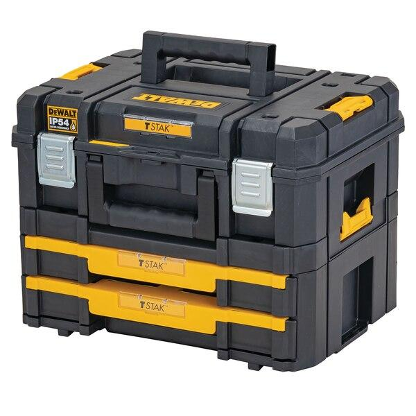 Dewalt DWST83395-1 TSTAK 2.0 IP54 Combo Kit - Tool Storage - Trade Building Products