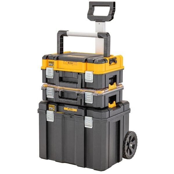 Dewalt DWST83411-1 TSTAK IP54 Mobile Box Bundle - Tool Storage - Trade Building Products