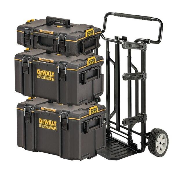 Dewalt DWST83442-1 Toughsystem 2.0 4 In 1 Stackable Tool Box Full Bundle - Tool Storage - Trade Building Products