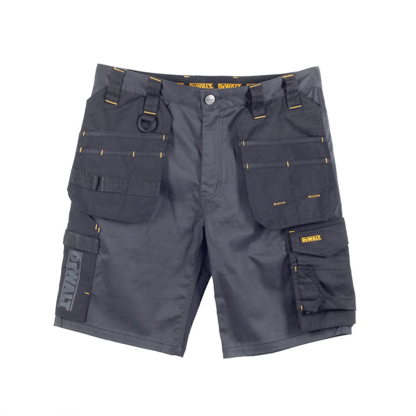 Dewalt Ferguson Grey/Black Stretch Shorts - Clothing - Trade Building Products