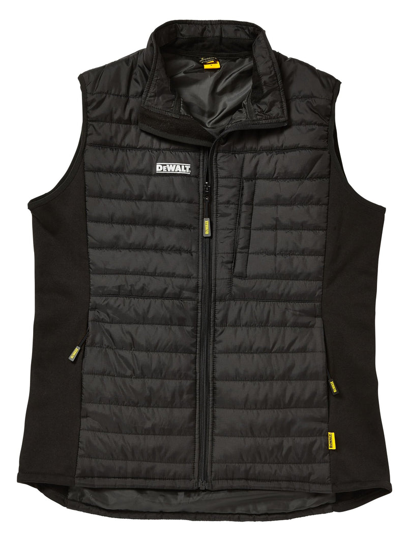 Dewalt Force Black Lightweight Padded Gilet - Clothing - Trade Building Products