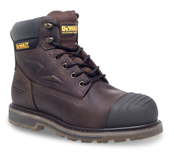Dewalt Houston Brown Safety Boot - Clothing - Trade Building Products