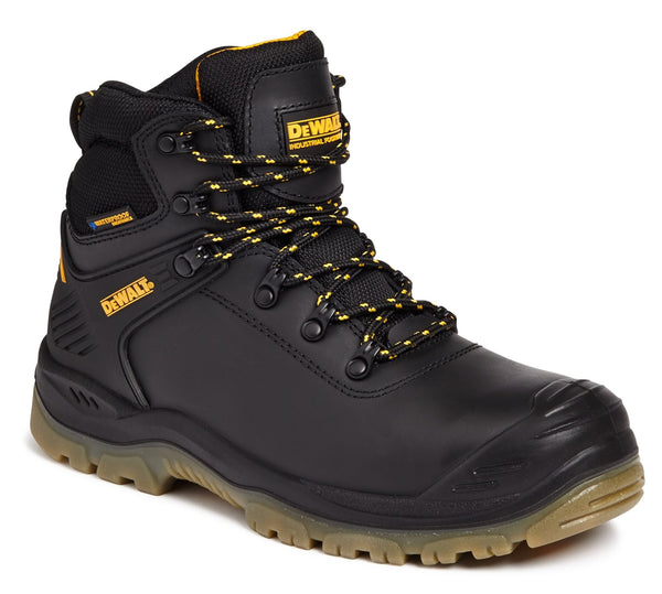 Dewalt Newark Black Waterproof Trainer Safety Boot - Clothing - Trade Building Products