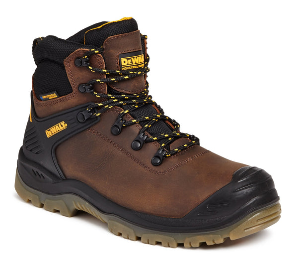 Dewalt Newark Brown Waterproof Trainer Safety Boot - Clothing - Trade Building Products