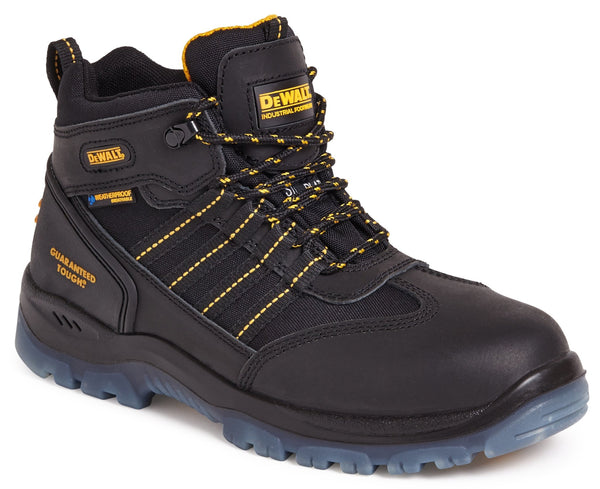 Dewalt Nickel Black Waterproof Safety Boot - Clothing - Trade Building Products