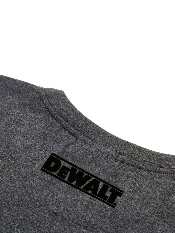 Dewalt Typhoon Charcoal Grey T-Shirt - Clothing - Trade Building Products