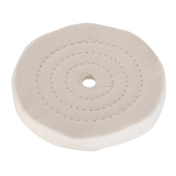Double-Stitched Buffing Wheel - 150mm - Power Tool Accessories - Trade Building Products