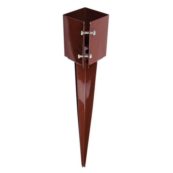 Drive-In Fence Post Anchor - 100 x 100 x 750mm - Hardware & Fixings - Trade Building Products