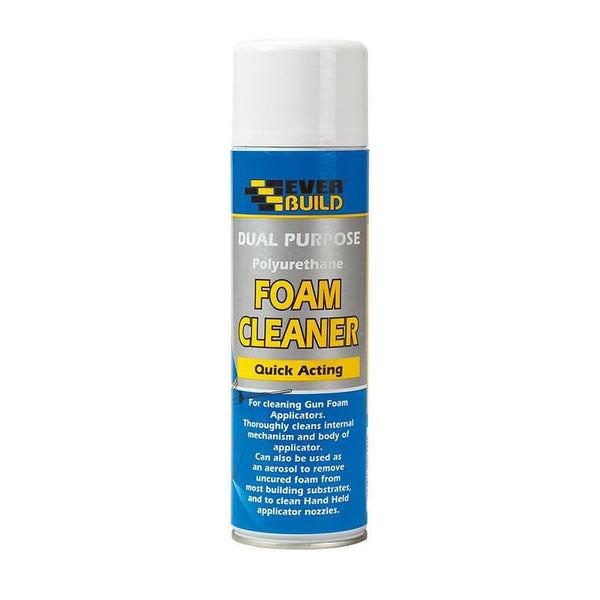 Dual Purpose Foam Cleaner - 500ML - - Expanding Foam - Trade Building Products