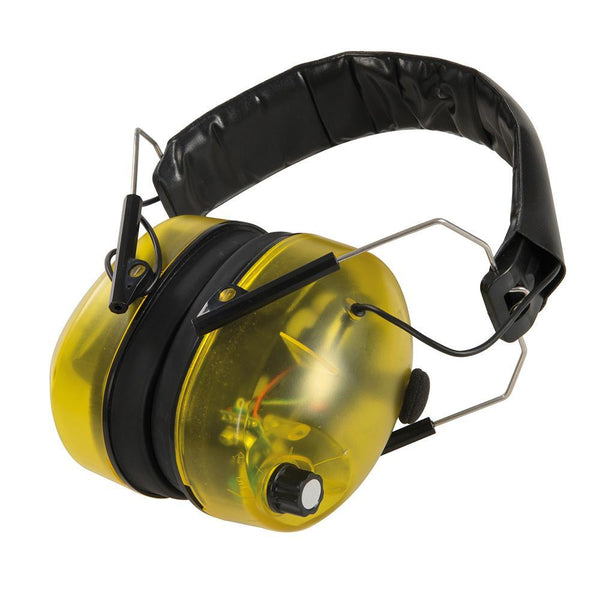 Electronic Ear Defenders SNR 30dB - PPE - Trade Building Products