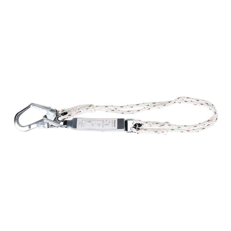 Energy Absorbing Twin Lanyard - PPE - Trade Building Products