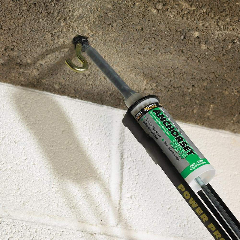 Everbuild Anchorset Green 150 - Chemical Anchor Resin - Chemical Anchors - Trade Building Products