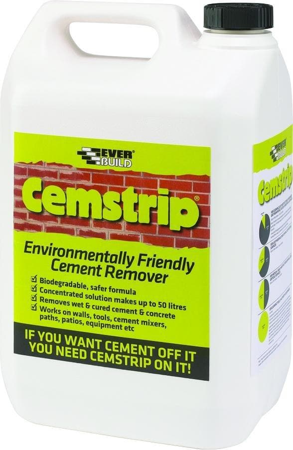 Everbuild Cemstrip - Environmentally Friendly Patio Stain Remover - Patio Sealer - Trade Building Products